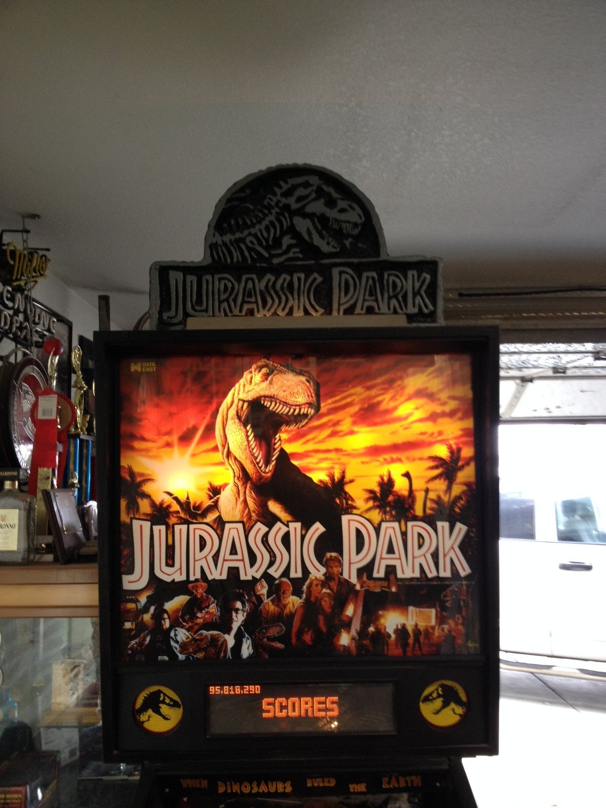 jurassic park pinball machine for sale