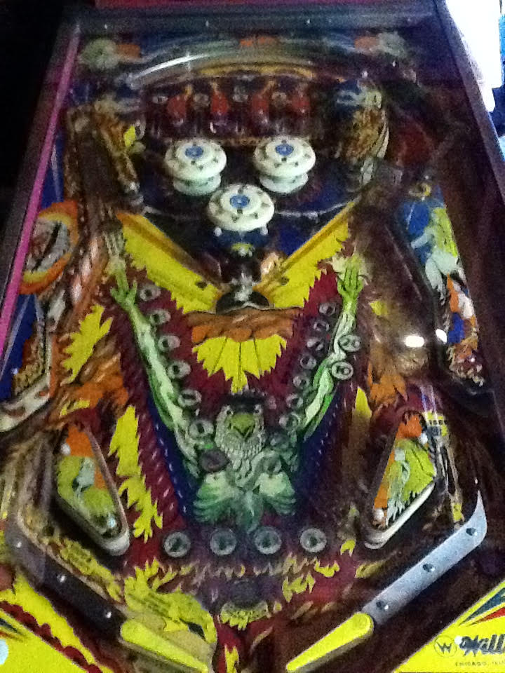 pinball machine california